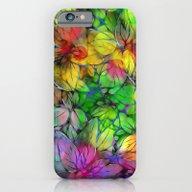 Dream Colored Leaves iPhone 6 Slim Case