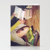 Bookish 04 Stationery Cards