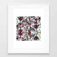 Under the light Framed Art Print