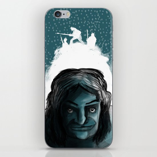 The Iceman Cometh iPhone & iPod Skin
