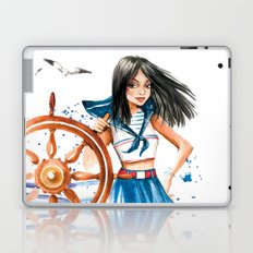 Summer Girl Laptop & iPad Skin