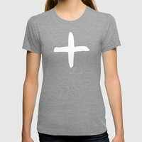 Positive Womens Fitted Tee Tri-Grey SMALL