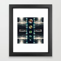 Rockets and Space and Stuff Framed Art Print