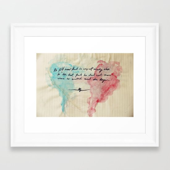 Tolstoy's Love Framed Art Print