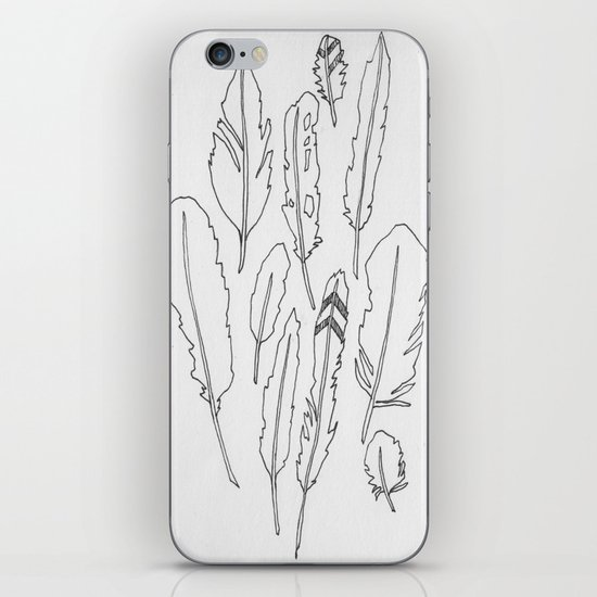 feather friends iPhone & iPod Skin