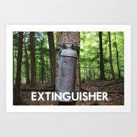 EXTINGUISHER Art Print