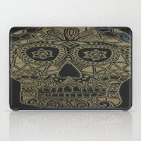 Gold Skull iPad Case