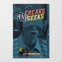 Freaks And Geeks Tv Post… Canvas Print