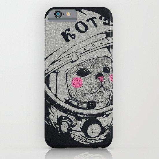 Spaceman cat iPhone & iPod Case
