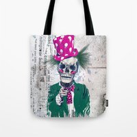 Skully Sam Tote Bag