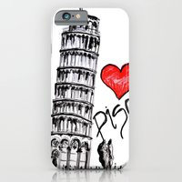 I love Pisa  iPhone 6 Slim Case