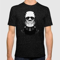 Polygon Heroes - The Hor… Mens Fitted Tee Tri-Black SMALL
