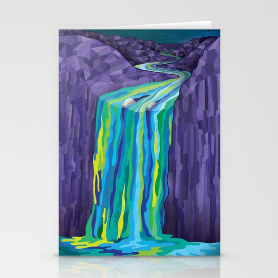 The Great Waterfall Stationery Card