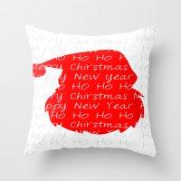 St. Nick  Throw Pillow