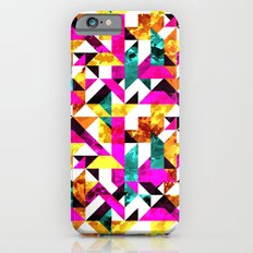 Textural Aztec Geometric  iPhone 6s Slim Case