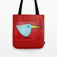 Birdy Blue Tote Bag