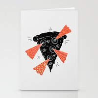 Lazer Pizza Stationery Cards