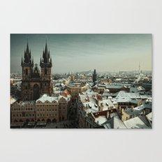 Prague never lets you go Canvas Print