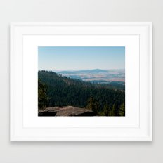 Moscow Mountain Framed Art Print