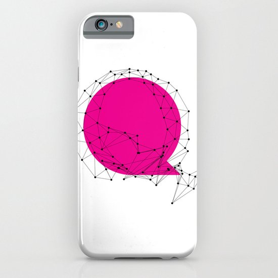 Q (abstract geometrical type) iPhone & iPod Case
