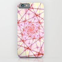 iPhone & iPod Case featuring Neural Network Spiral by Objowl