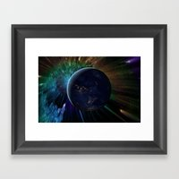 You Run To Catch Up With… Framed Art Print