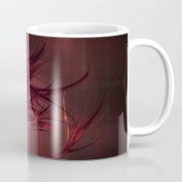 Red Abstract Mug