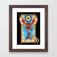 Epic Monster Hunter Framed Art Print