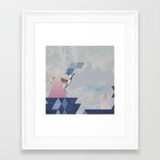 UMBR∆ #1 Framed Art Print