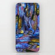 Iridescent Background iPhone & iPod Skin