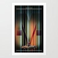 MERCURY JT450 Art Print