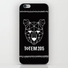 Totem Festival 2015 - White & Black iPhone & iPod Skin
