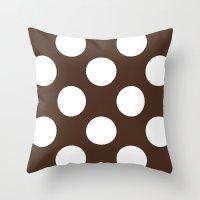 Café com bolas Throw Pillow