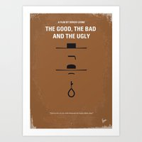 No090 My The Good The Ba… Art Print