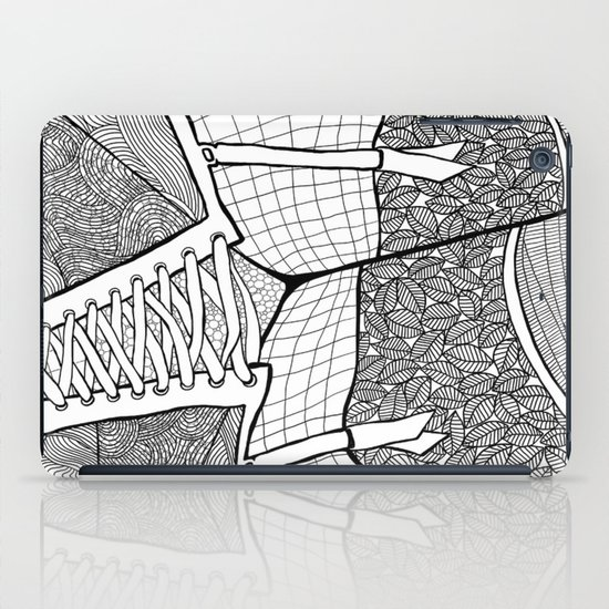 La femme 11 iPad Case