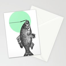mint bubble Stationery Cards