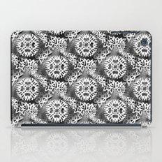 Snowflake Pattern (dark and edgy) iPad Case