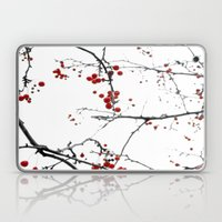 Little Red Kisses Laptop & iPad Skin