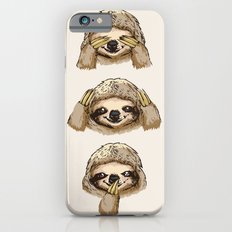 No Evil Sloth iPhone 6s Slim Case