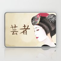 Geisha - Painting Laptop & iPad Skin