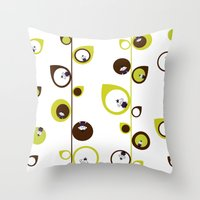 Zombie Matt In The Vines… Throw Pillow
