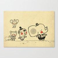 Forest Friends \ Cute An… Canvas Print