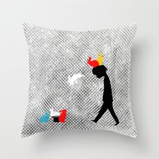 magical rebellion Throw Pillow