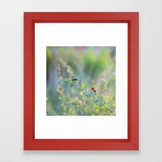 Elegant Bug Framed Art Print