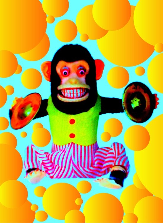 Cymbal Monkey Art Print