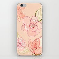 Summer Flowers Warm iPhone & iPod Skin