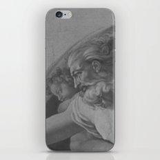 Black White Sistine iPhone & iPod Skin