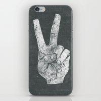 Peacefingers iPhone & iPod Skin
