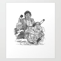 Texas Chainsaw Massacre … Art Print