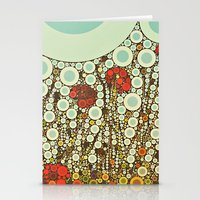 Pop Pop Poppies Abstract… Stationery Cards